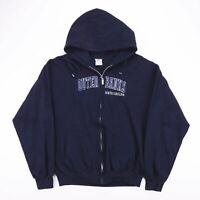 Vintage Outer Banks North Carolina UDA Blue Zip Hoodie Size Men's XL