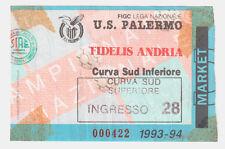 54253 Biglietto stadio - Palermo Fidelis Andria - 1993/1994