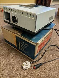 Vintage Prinzmatic 500 35mm Colour Slide Projector