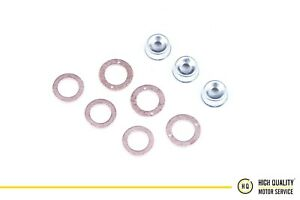 Injector Seal Kit With Heat Shield For Kubota 19077-53650 D1105, 3 Cylinder.