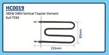345W 240V VERTICAL TOASTER ELEMENT TC65 HC0019