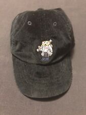 Polo Ralph Lauren Kids Blue Hockey Ski Bear Corduroy Dad Hat Cap Sz 2T 9380-3