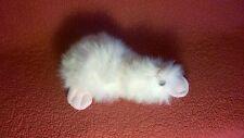 "Vintage 10"" Ganz Heritage GOOGLES DUCK PLATYPUS pink white plush stuffed animal"