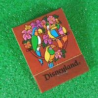 Disney Unused Matchbook Adventureland Tiki Room New Orleans Square Disneyland