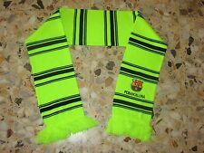 echarpe scarf sciarpa FC BARCELONA BARCELONE BARCA PRODUIT OFFICIEL FCB YELLOW
