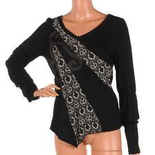 Waist Length V Neck Formal Plus Size Tops & Shirts for Women