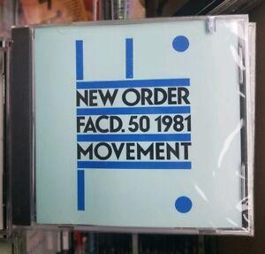 1992 New Order RARE - Movement QWEST /Warner Bros. 9 45089-2) U.S. release