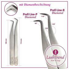 Wimpernverlängerung Pinzette für Volumentechnik | Diamond Edition