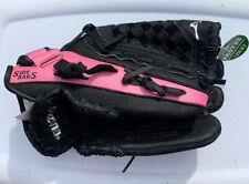"Mizuno Fastpitch Prospect GPP1105 11"" Softball Pink Black RHT Glove ~ NEW!"
