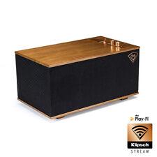Klipsch Heritage The Three Wireless Bluetooth Speaker Walnut Multi-Room Ready