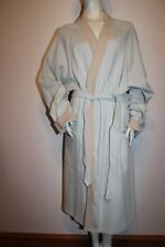 "HOM Morgenmantel ""Cosy Bathrobe Long"" Gr. 6 mint beige Robe Herren Bademantel"