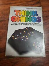 Think Ominos Game Used Complete. Vintage