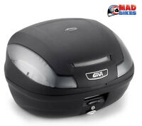 Givi E470 NT 2 Helmet Motorcycle Top Box 47L Plus Universal Mounting Plate