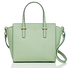NWT Kate Spade MINT Mojito Green Small Hayden Saffiano LEATHER purse bag satchel