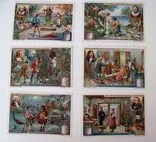 1921 Trade Card Set - Liebig's Fleisch-Extract - Famous Actors & Playwrights *