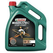 Castrol Magnatec start-stop 0W-30 D  specifico per i motori ford  5 litri