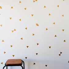 162 pcs Triangle Wall Stickers Vinyl Wall Decal Kids Art Mural Home Decor DIY