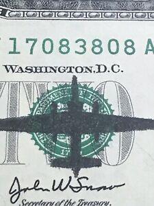 2003 two dollar bill plane error