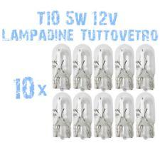 10x Lampadine in Vetro T10 per Sostituzione Luci Cruscotto e Strumentazione 2B1