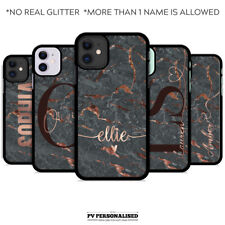 PERSONALISED PHONE CASE COVER NAME INITIALS FOR APPLE IPHONE SE 2020 XR X 11 6S