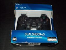 Sony PS3 Playstation DualShock 3 Wireless Bluetooth Controller Black New Sealed