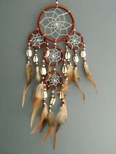 Dream Catcher Natural Chocolate Brown and Silver Quality Dreamcatcher Boys Girls