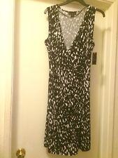 Woman's Animal Print Dress, Size Large BNWT