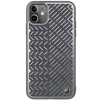 Nillkin Herringbone,Cloth Hybrid Reflective Case Cover for iPhone 11