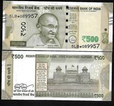 """Rs.500/- Urjit Patel  Star Note """"F"""" Inset  Prefix 5LB  2017 - UNC  LATEST"""