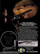 1989 MOSSBERG 500 Waterfowl Deer Camo Combo SHOTGUN AD