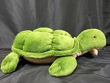 "Plush Green Sea Turtle Giant Big 24"" Large Soft Stuffed Animal Child Kids Toy"