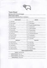Away Teams Arsenal Football Reserve Fixture Programmes