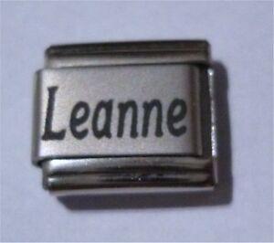 Italian Charms - Name Charm  -  Names  Leanne