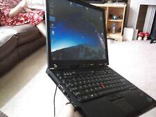 Thinkpad T60 1.83 GHz Core Duo 2GB RAM 80GB HDD DVD - Great Classic!!