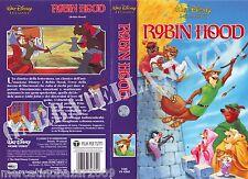 ROBIN HOOD (1973) VHS WALT DISNEY EDIZIONE 1992 - VS 4362