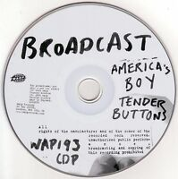 BROADCAST America's Boy 2005 UK 2-track promo only CD