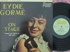 Eydie Gorme UK Reissue LP On stage NM '67 Jasmine Vocal Latin Pop