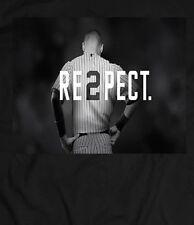 DEREK JETER **Respect a LEGEND** CUSTOM T-Shirt *MANY OPTIONS* YANKEES