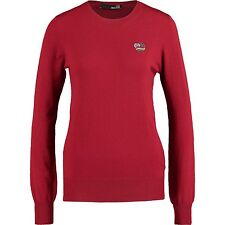 MOSCHINO Bordeaux Knitted Jumper Size 10