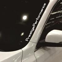 1x Car Prestige Performance Hellaflush Windshield Vinyl Car Stickers Decal New