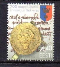 Estonia Gomma integra, non linguellato 2002 SG428 700TH ANV della concessione di LUBEK Charter a rakvere