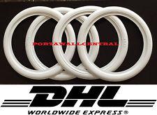 White wall ''13'' Portawall tyre port a wall insert trim set 4x