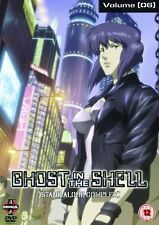 Ghost In The Shell Stand Alone Complex Volume Vol 6 DVD New Sealed UK Release R2