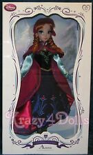 Disney Frozen Limited Edition LE Designer Doll Anna NEW! Elsa sister