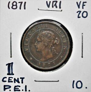 1871 Price Edward Island One Cent