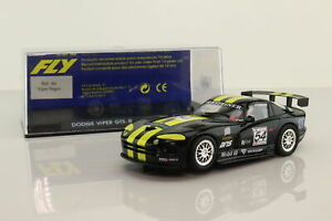 FLY Slot Car; Dodge Viper GTS-R; 1998 Silverstone; RN54; Excellent Boxed