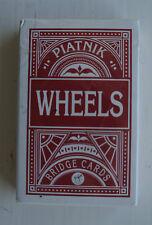 PIATNIK-Rosso appoggiato carte da gioco-dimensioni Bridge