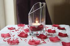 2000 x Rojo 4.5mm DIAMANTES + 100 Red Pétalos de Rosa San Valentín Decoración