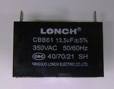 CBB61 13.5UF 350VAC Capacitor 40/ 70/ 21/
