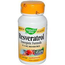 Natures's Way Resveratrol - 60 Vcaps - A Comprehensive Blend of Antioxidants